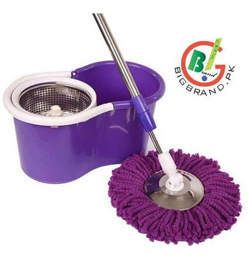 easy cleaning 360 stainless steel spinner magic mop in pakistan