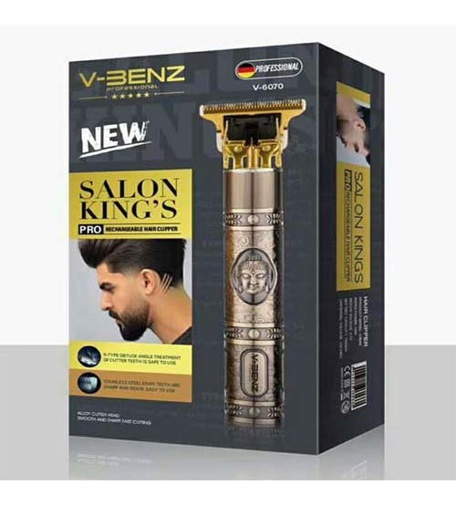V-Benz 6070 Professional Rechargeable Hair Clippers for Men