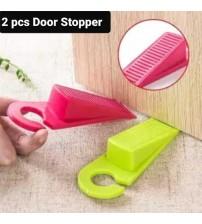 2 Pcs Rubber Door Stopper