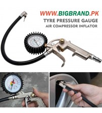 Air Compressor Tyre Inflator Tool Gauge for Car