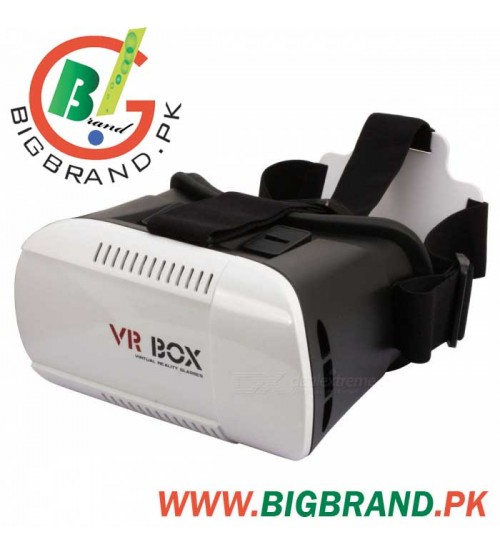 d348b42b686 VR BOX Virtual Reality 3D Glasses for Phones - White