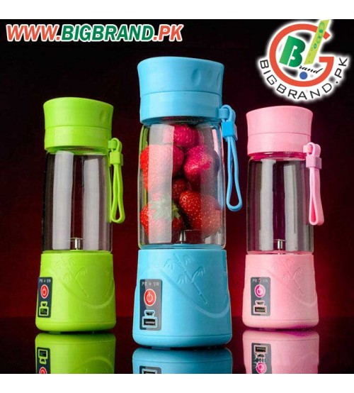 USB Rechargeable Portable Electric Juicer Blender
