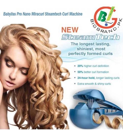 Babyliss Pro Nano Miracurl Steamtech Curl Machine