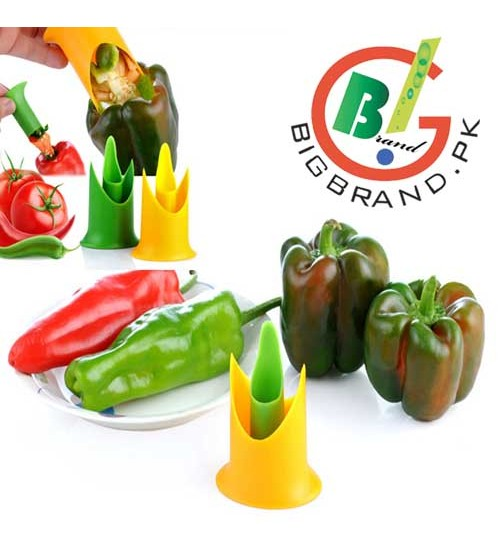 Fruit and vegetable Nylon Pepper Corer