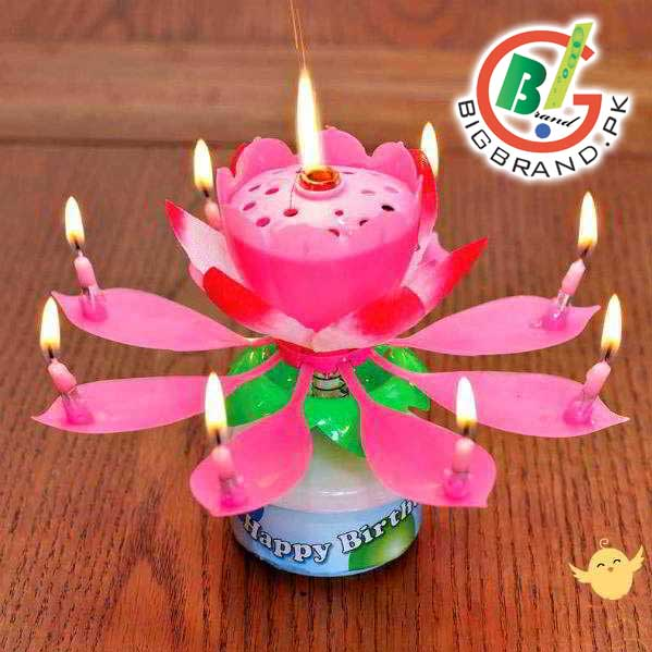 You Are Looking Now Latest Pack Of 2 CANDLE Musical Rotating Flower Price In Pakistan Market 2017 Including All Major Cities PakistanPack