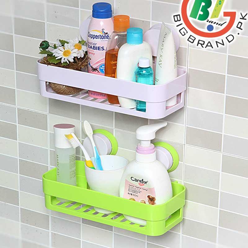 Bathroom Shelf Storage Rack Wall Organizer