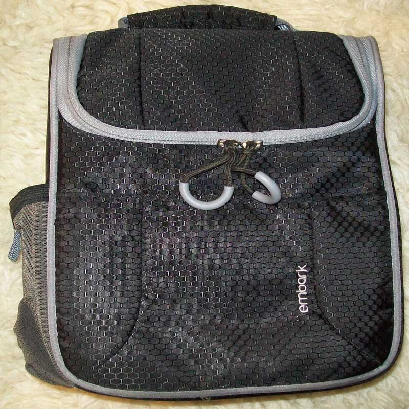 Embark Insulated Lunch Box Bag Pouch With Bottle