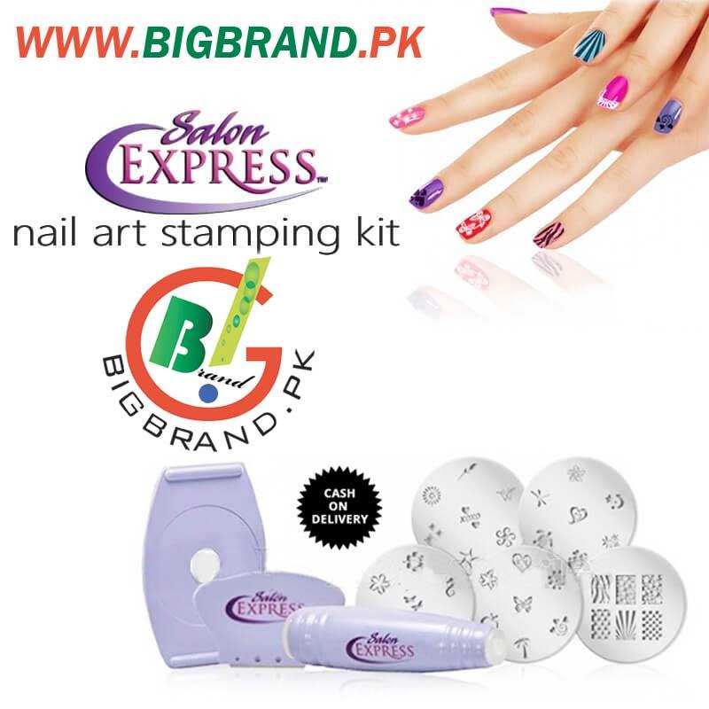 Salon Express DIY Nail Stamping Kit