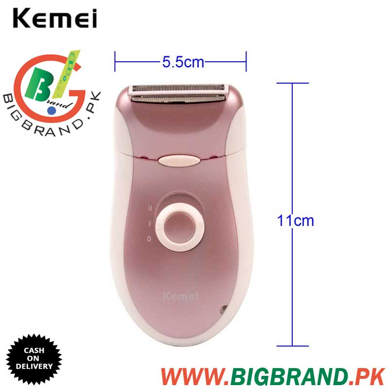 Kemei Rechargeable Hair Removal Shaver Km 2068