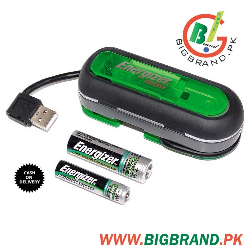 AA - AAA USB Energizer Rechargeable Battery Charger