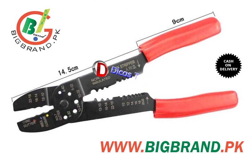multi function wire terminal crimping tool with accessories. Black Bedroom Furniture Sets. Home Design Ideas