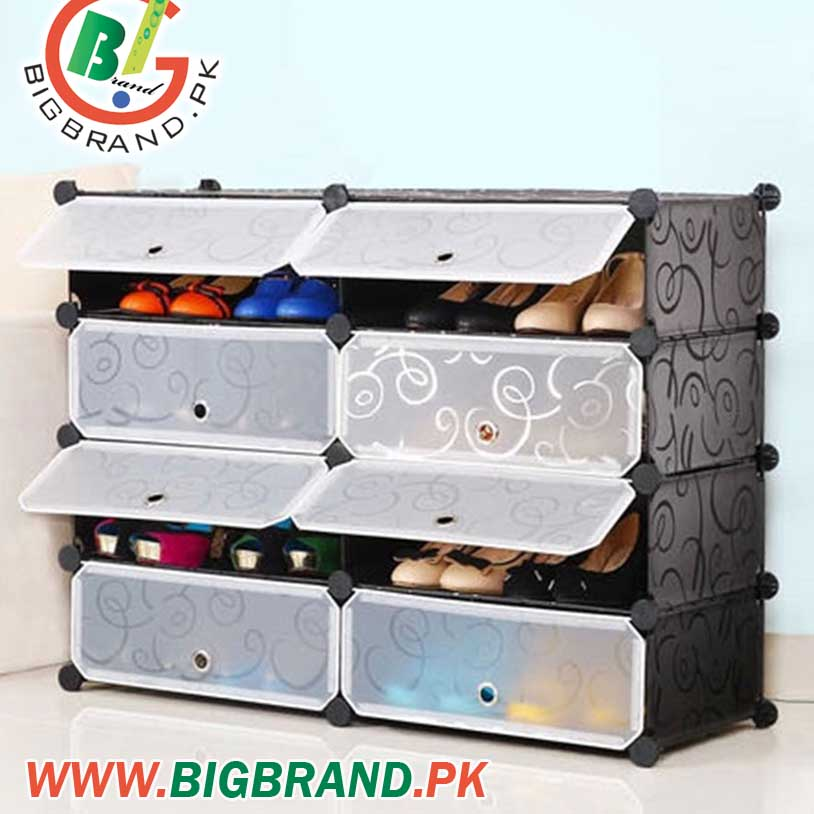 You Are Looking Now Latest 16 Pairs 8 Cube Plastic Storage Shoe Rack Price  In Pakistan Market 2015 Including In All Major Cities Of Pakistan,16 Pairs  8 Cube ...