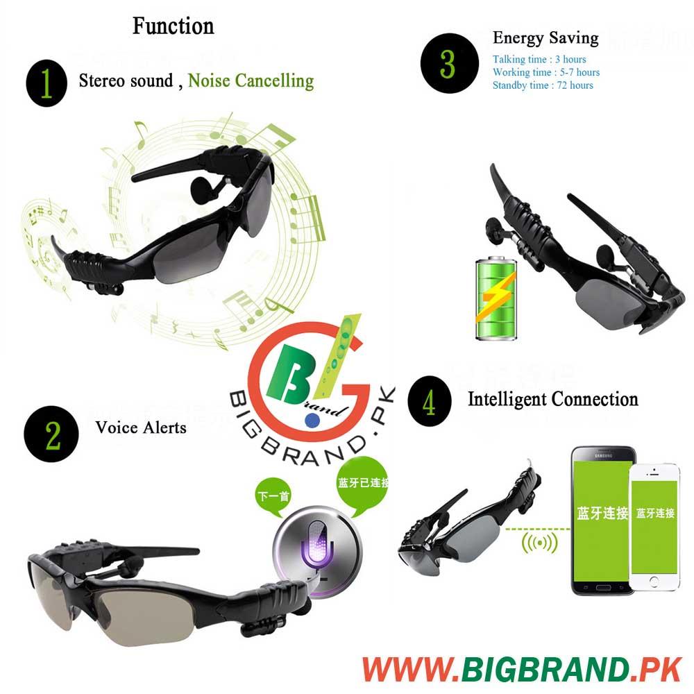 Outdoor Bluetooth MP3 Music Sunglasses