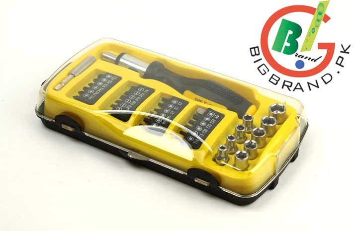35 ratchet screwdriver sleeve combination set. Black Bedroom Furniture Sets. Home Design Ideas