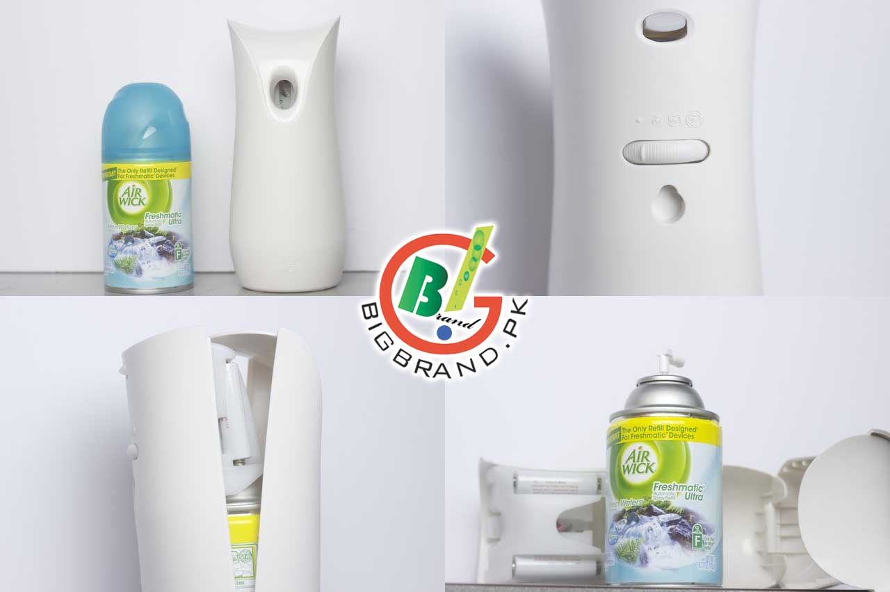 Air Wick Automatic Spray Machine With 3 Fragrances Refills